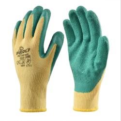 Работни ръкавици GRIP | Жълто | Зелено