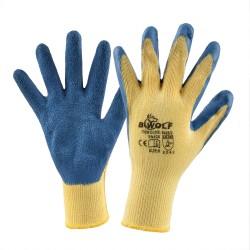 Работни ръкавици GRIP PLUS | Жълто | Синьо
