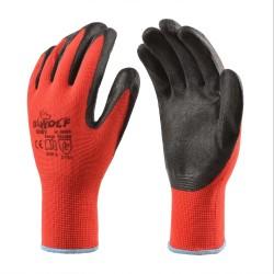 Работни ръкавици RUBY | Червено | Черно