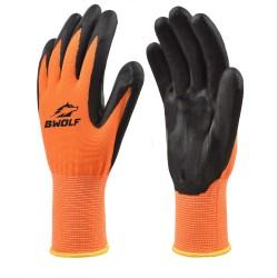 Работни ръкавици PUSH | Оранжево