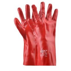 Работни ръкавици FOZE | Червено