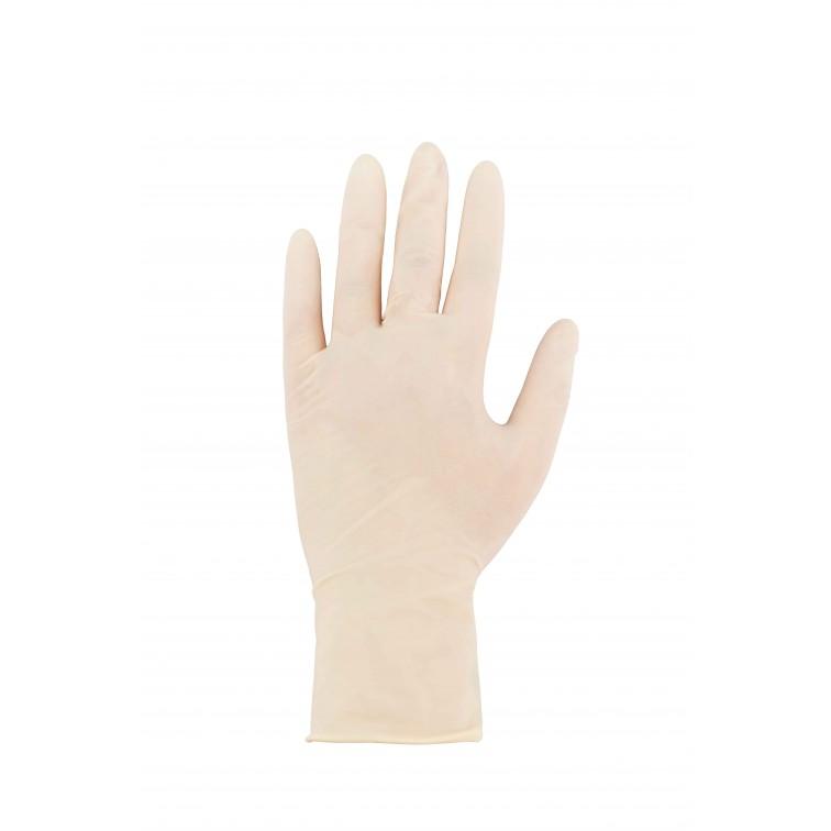 Работни ръкавици 100 броя в кутия SENSE | Бяло
