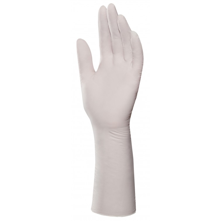 Работни ръкавици еднократни 100броя в кутия SOLO 999 | Бяло