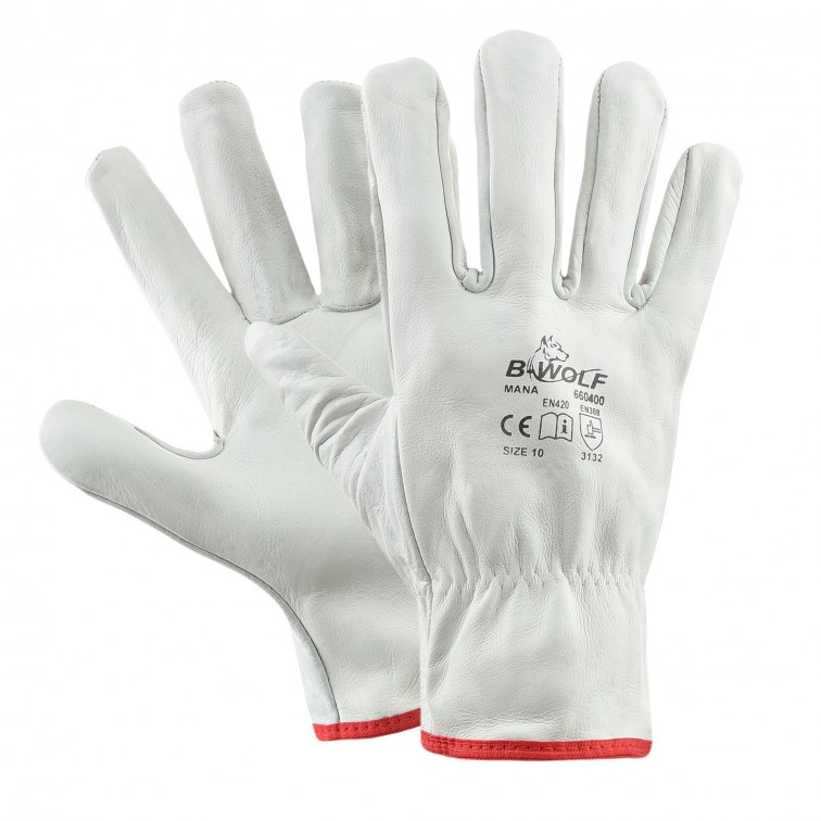 Работни ръкавици MANA | Бяло