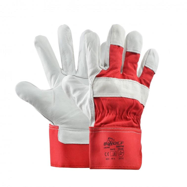 Работни ръкавици CRANE | Червено