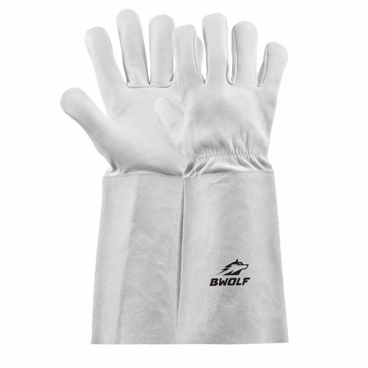 Работни ръкавици за заваряване ARGON   Бяло