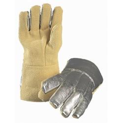 Работни ръкавици 35 см. 5 пръста алуминизирани 500С LAVA 500