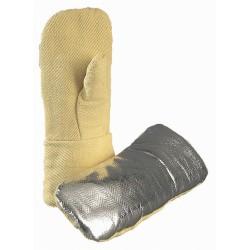 Работни ръкавици 35 см. 1 пръст алуминизирани 500С LAVA 500