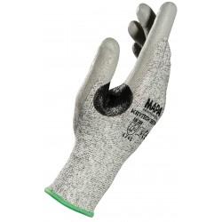 Работни ръкавици противосрезни KRYTECH 557 | Сиво