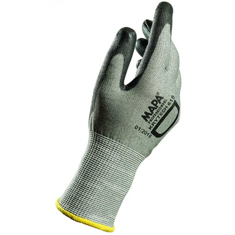 Работни ръкавици KRYTECH 615 | Сиво