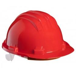 Защитна каска  GOLEM | Червено