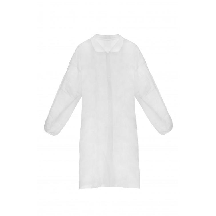 Манта за еднократна употреба ASTERIA | Бяло