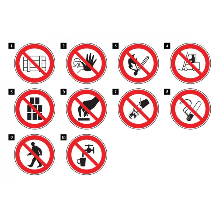 Забранаяващи знаци SIGN PRO | 800006