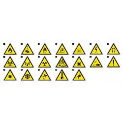 Предупреждаващи знаци SIGN W | 800307